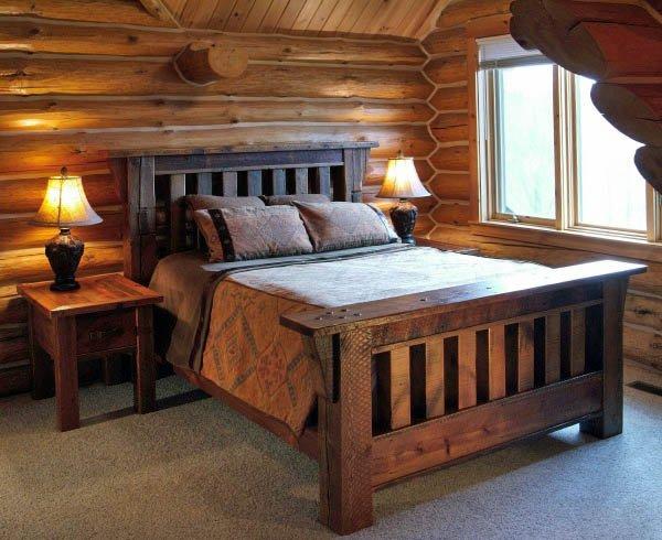 Ahşap Yatak Odaları